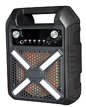 Колонка с подсветкой ,ручкой  B706 с выходом на микрофон, фото 2