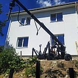 Свая винтовая одновитковая Ø133 мм.2000 мм., фото 5