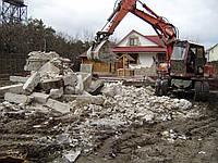 Будівельний демонтаж знесення будівельних конструкцій будівель споруд, фото 1