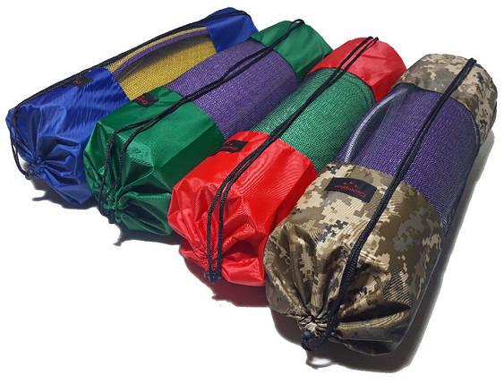 Чехол-рюкзак для ковриков и кариматов с сеточкой, фото 2
