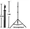 Кільцева світильник лампа RGB Ring Light LED MJ 33 для смартфона зі штативом-стійкою селфі, фото 4