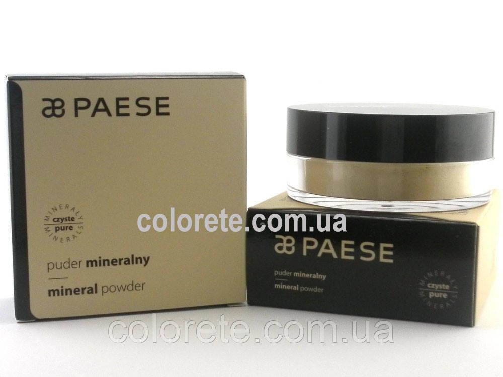 Paese Рассыпчатая пудра Минеральная (02) Mineral Naturalny Powder