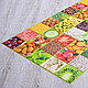 Декоративная Настенная Панель ПВХ Grace (Плитка столовый микс), фото 2