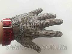 Кольчужная перчатка Schlachthausfreund (Германия) без манжетки с тканевым ремешком