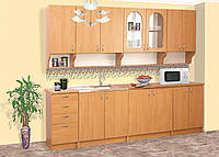 Кухня Вероника (ДСП) 2 м комплектом и посекционно