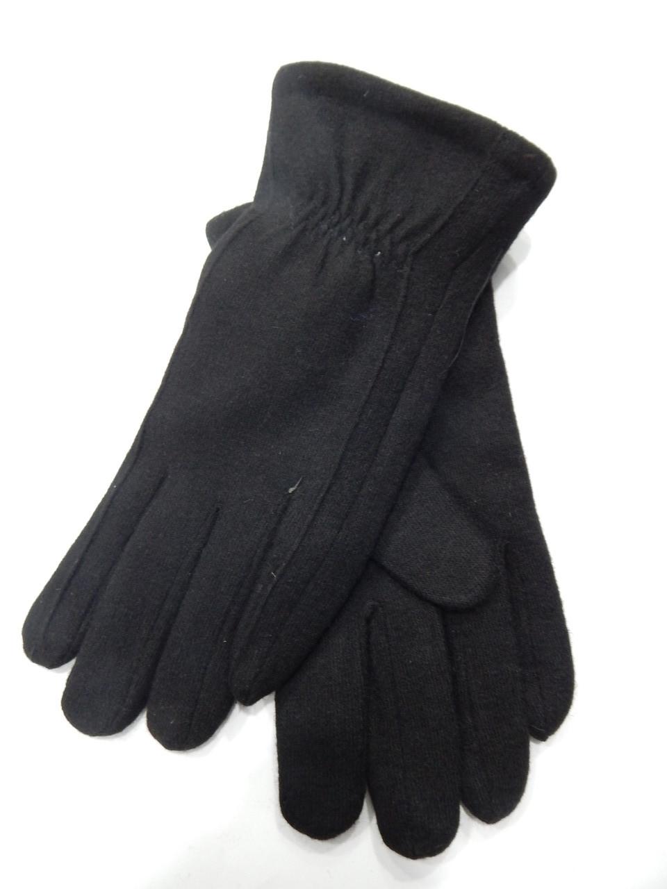 Мужские перчатки кашемир/махра оптом