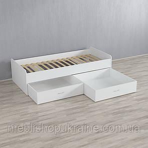 Кровать (с двумя шухлядами)