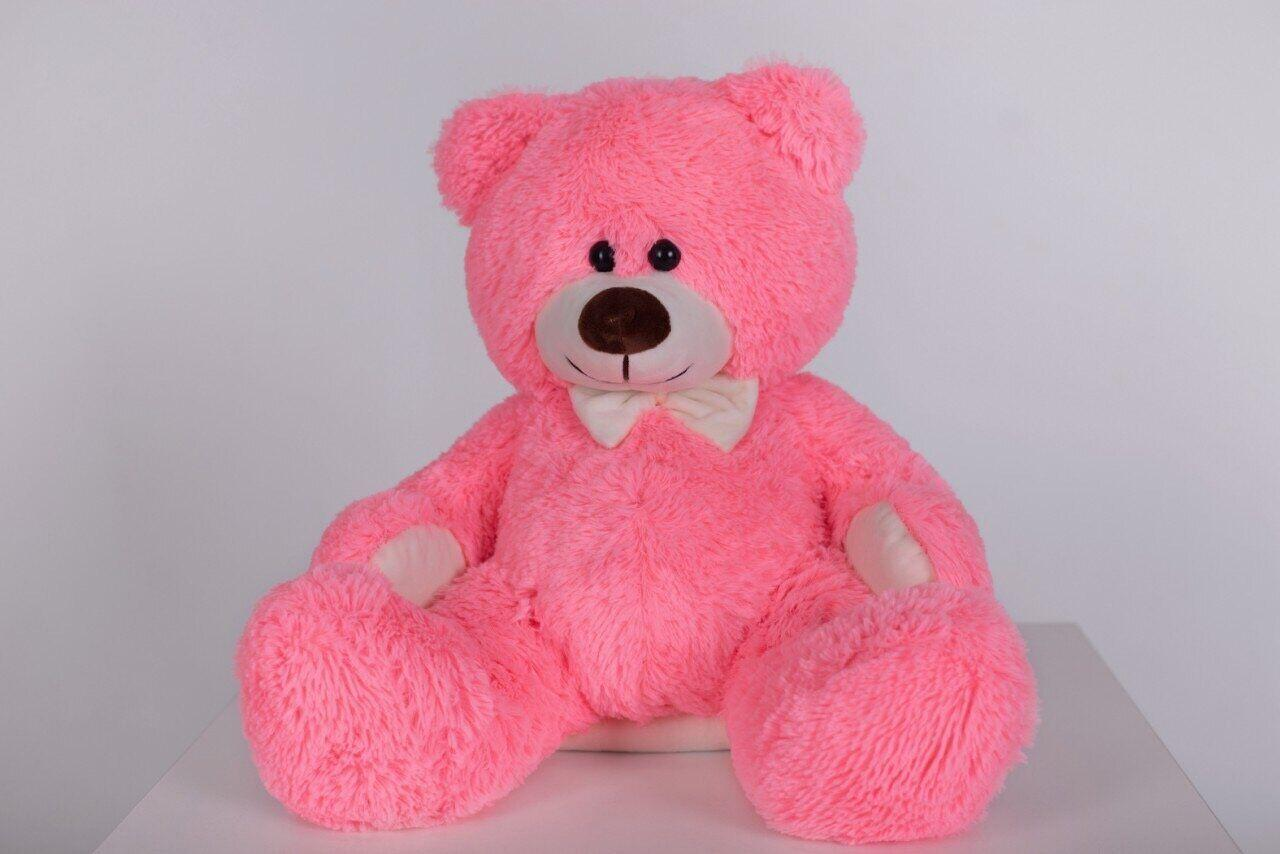 Плюшевый мишка Yarokuz Джеймс 65 см Розовый