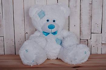 Мишка с латками плюшевый Yarokuz Теодор 65 см Белый