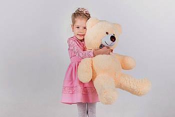 Плюшевый медведь Yarokuz Джимми 90 см Персиковый