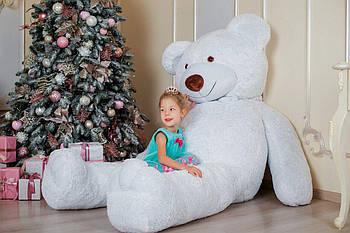 Величезний м'який ведмедик Yarokuz Вільям 250 см Білий