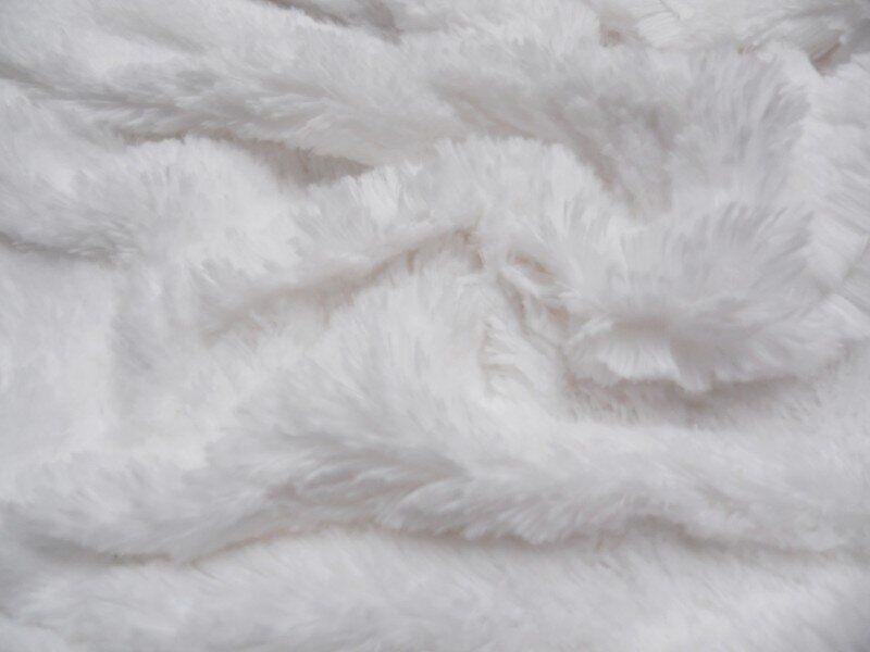 Искусственный мех-травка 20 мм Белый