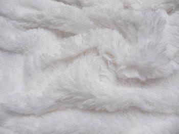 Искусственный мех-травка 20 мм Белый, Белый