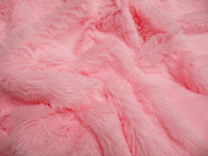 Искусственный мех-травка 20 мм Розовый, Розовый
