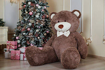 Величезний м'який ведмедик Yarokuz Вільям 250 см Капучіно