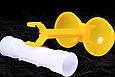 Поилка двойная на круглой трубы 25 мм, фото 4