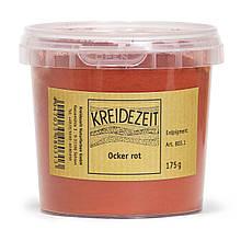Натуральный пигмент, Красная охра, Ocker Rot, Pigmente, Kreidezeit