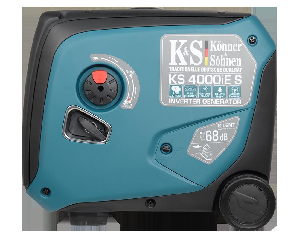 Генератор инверторный Konner&Sohnen KS 4000iE S (4 кВт)