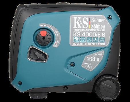 Генератор инверторный Konner&Sohnen KS 4000iE S (4 кВт), фото 2