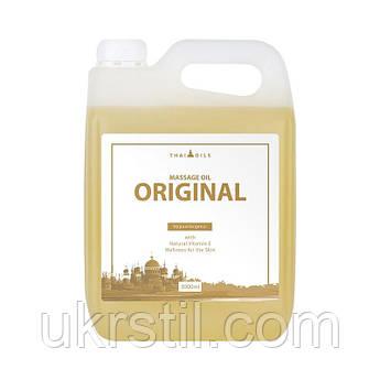 Массажное масло с нейтральным запахом Thai Oils Original 3л