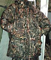 """Камуфляжный костюм Зимний """"Дубок темный"""" Камуфляжная одежда Размер: 48-62. Рыбалка Одежда для охоты Зимняя"""