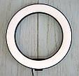 Светодиодное лед кольцо для селфи Ring Fill Light 20 см. кольцевая лампа для телефона  ( 7326 ) (GK), фото 5