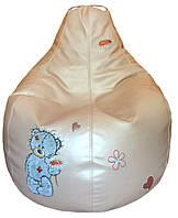 Кресло мешок пуф бескаркасная мебель для детей мишка Тедди