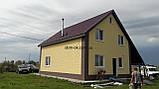 Термопанели фасадные на основе ваты , фактура Гладкий кирпич, размер 500х500мм, толщина 50 мм, фото 8
