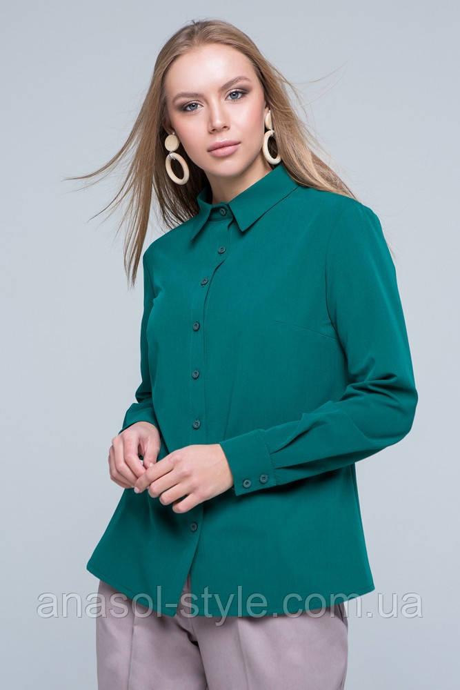 """Рубашка """"Карина"""" зеленый"""