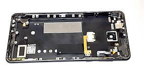Задня кришка , середня частина корпуса ,бічні кнопки на шлейфі , вібромотор Nokia 5 Dual Sim ТА-1053, чорна,, фото 3