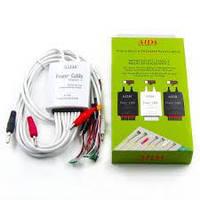 Кабелі для блоків живлення AIDA A-700 з роз'ємами для підключення плат iPhone 4/4S/5/5S/SE /6/6S/6P/6SP, micro USB, крокодили