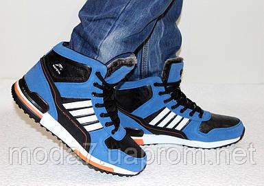 Мужские зимние ботинки под Adidas реплика