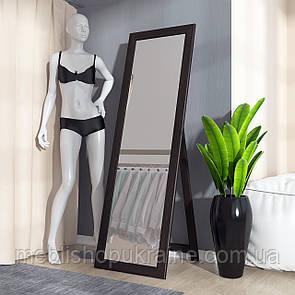 Зеркало напольное (с регулируемым углом наклона) Венге Темный