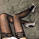 Оригинальные чулки со стразами эротическое белье сексуальное белье, фото 4