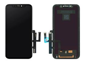Дисплей (LCD) iPhone 11 с сенсором чёрный (переклей)