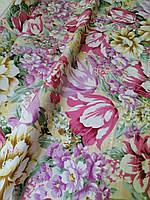 Тканина для напірників Рожевий тюльпан бавовна