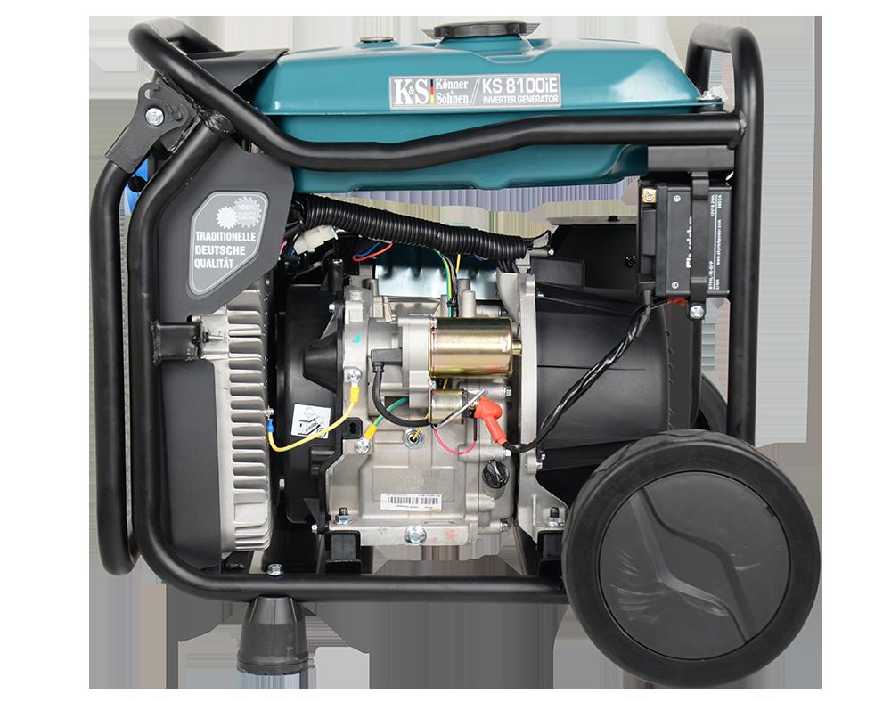 Генератор инверторный Konner&Sohnen KS 8100iE (8 кВт)
