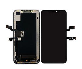 Дисплей (LCD) iPhone 11 Pro Max с сенсором чёрный оригинал (переклей)