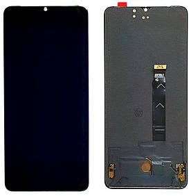 Дисплей для OnePlus 7T | 1+7T с сенсорным стеклом (Черный) Оригинал
