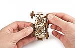 Марсобагги UGEARS Механический 3D пазл конструктор из дерева, фото 10