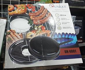 Деко сковорода гриль-газ UNIQUE UN-4001 (33 см), фото 2
