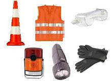 ADR-комплект для опасных грузов, которым присвоены знаки опасности № 1, 1.4, 1.5, 1.6, 2.1 или 2.2