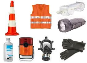 ADR-комплект для небезпечних вантажів, яким присвоєно знаки небезпеки № 6.1