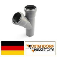 Тройник PP 50/40х45 внутренней канализации Ostendorf HT Германия