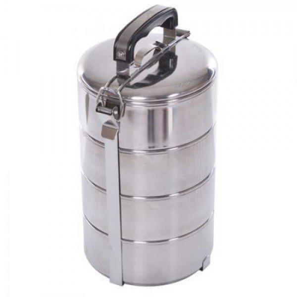 Пищевые контейнеры (судок) для еды ланч-бокс 4шт Stenson (H11886)