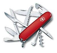 1.3713 Ніж Victorinox Swiss Army Huntsman червоний, фото 1