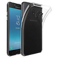 Чехол силиконовый для Samsung Galaxy J4 (J400) ультратонкий прозрачный