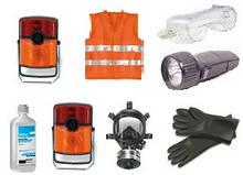 ADR-комплект для опасных грузов, которым присвоены знаки опасности № 6.1