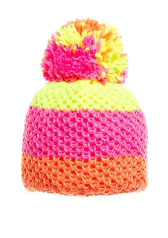 Детская вязанная шапочка с бумбоном Starling., фото 2