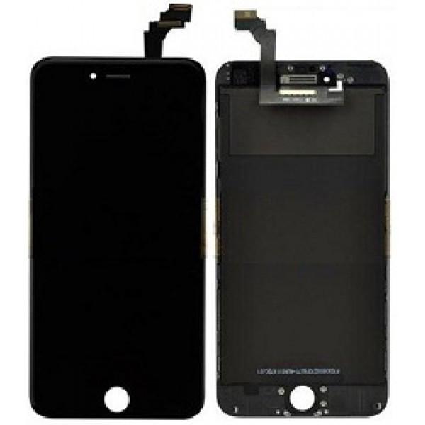 Дисплей (LCD) iPhone 6 Plus с сенсором черный оригинал (переклей)